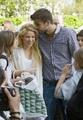 Piqué kisses head Shakira