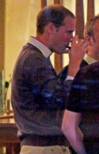 Prince William Spends a Night Out With the Boys