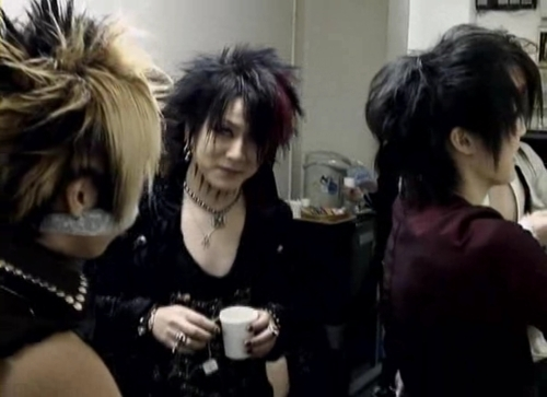 Reita, Kai and Ruki