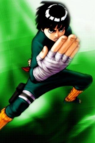 Rock Lee the beautiful green beast <3
