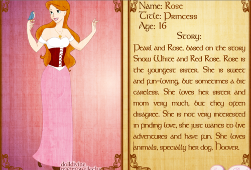 Rose (invented Disney Princess)