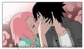Sasusaku Ciuman