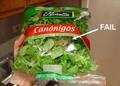 Salad FAIL