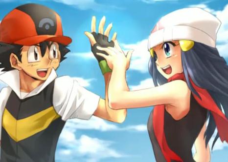 Satoshi and Hikari
