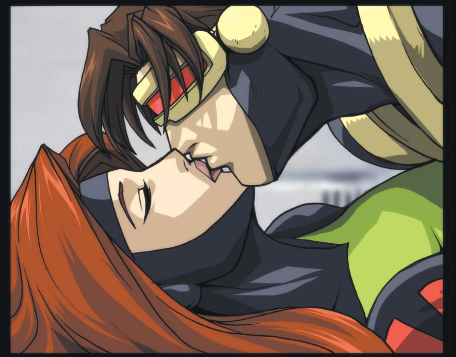 X-Men Evolution Scott-Jean X Men Evolution Jean And Scott
