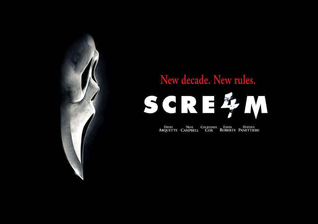 Scream 4 / Scre4m Ghostface Balloons original movie prop