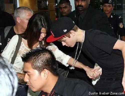 Selena & Justin in Malaysia