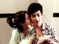 Selena kisses David