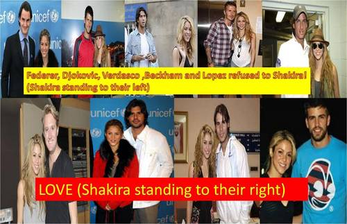 Shakira: these men rejected her, and these men do not !