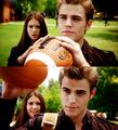 Stefan & Elena..