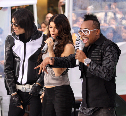 Taboo, fergie and Apl.De.Ap. - show, concerto
