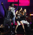 The Black Eyed Peas (Will.I.Am., Taboo, Fergie, Apl.De.Ap. ) - konzert 2009