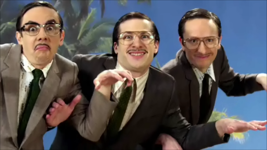 The Lonely Island The Creep  ft  Nicki Minaj  amp  John Waters Do The Creep Gif