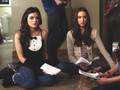 Troian as Spencer Hastings in PLL