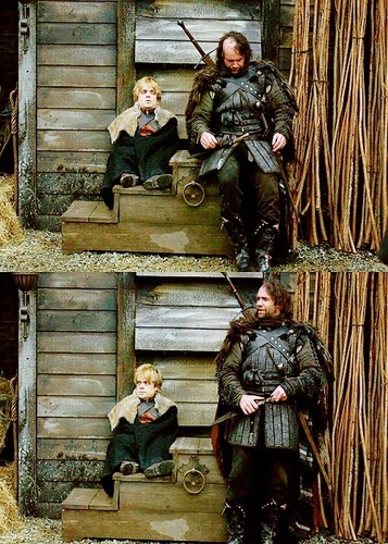 Tyrion & Sandor