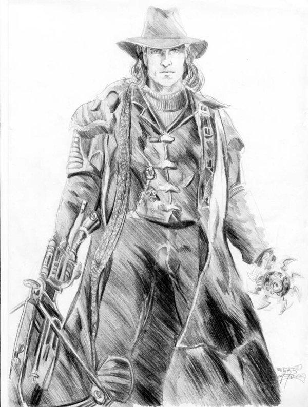 Van Helsing Van Helsing ArtVan Helsing Drawing
