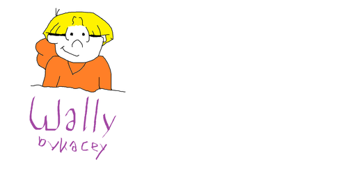 Wally on Paint