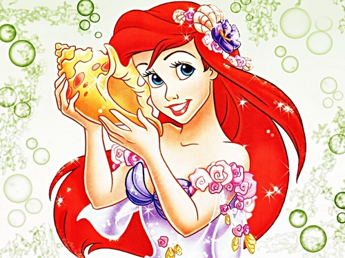 Walt Disney Wallpapers - Princess Ariel - walt-disney-characters Wallpaper