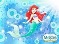 Walt Disney Wallpaper - Ariel, The Little Mermaid