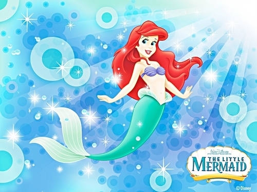 Walt Disney Wallpaper - Ariel, The Little Mermaid