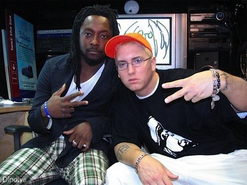 Will.I.Am. with Eminem