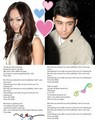 Zabecca = Perfect Match 100% Real :) ♥ - zayn-malik-and-rebecca-ferguson fan art