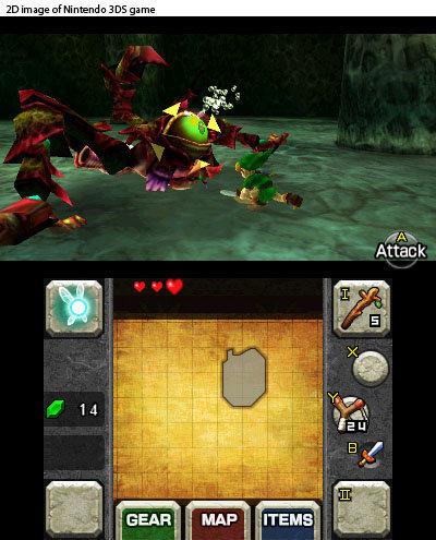 Zelda 3d screens