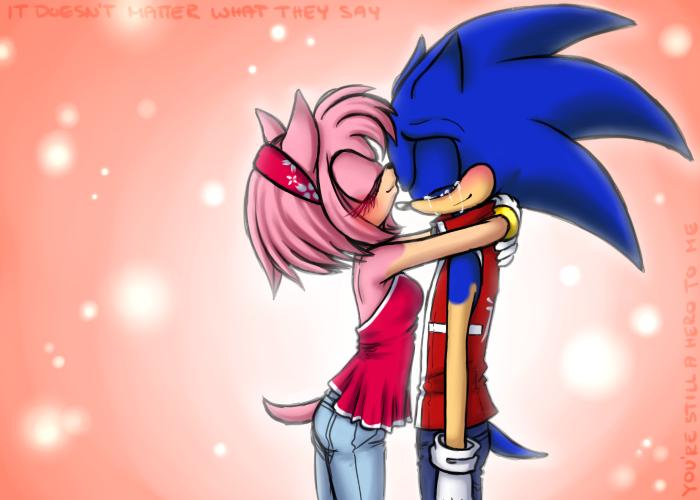 Sonamy kiss the girl