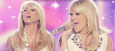 Carrie Underwood wallpaper with a portrait titled banner