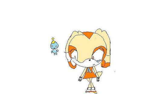 cream the rabbit and cheese the chao