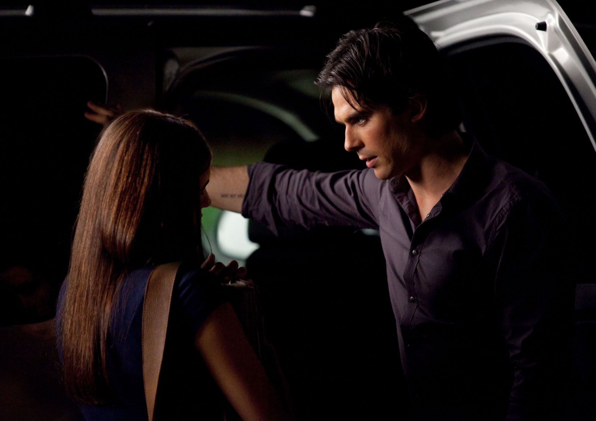 All the vampire diaries couples images damon and elena hd for Damon y elena