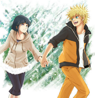 hin-naru - hinata-and-naruto Fan Art