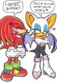 hot head ;) - knuckles-the-echidna photo