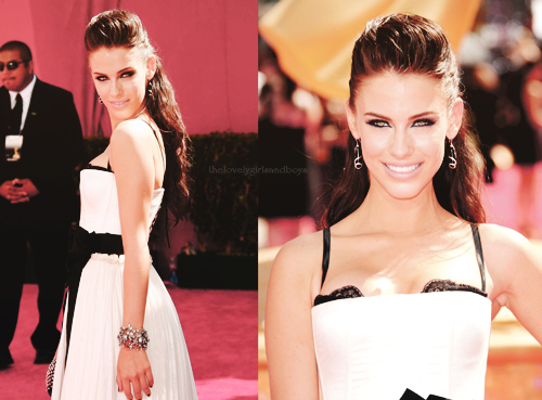 Jessica Lowndes wallpaper with a bridesmaid, a dinner dress, and a gown called jessica;