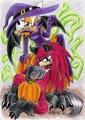 knouge in halloween - knuckles-the-echidna photo
