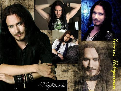 Nightwish wallpaper probably with a wimple called nw