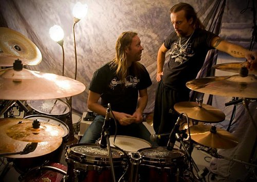 Nightwish wallpaper with a drummer, a snare drum, and a tympanist entitled nw summer camp