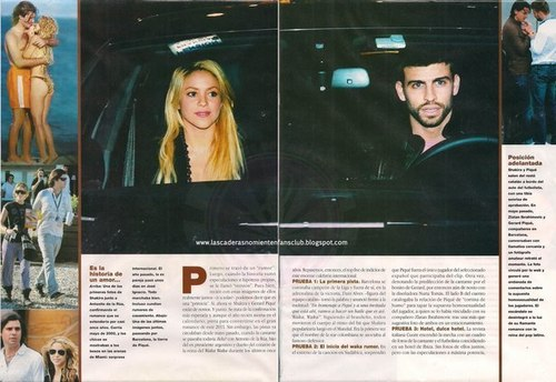 piqué shakira and their ex partners