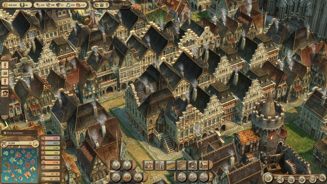 Anno 1404 images postcart view HD wallpaper and background photos