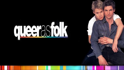 Queer As Folk wallpaper possibly containing a sign entitled qaf