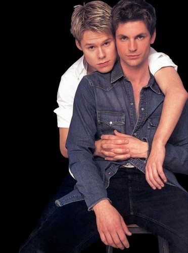 Queer As Folk wallpaper probably containing a well dressed person, an outerwear, and a leisure wear entitled qaf