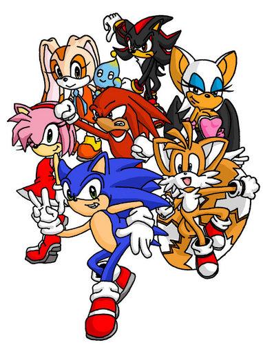 seven sonic buddies