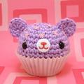 teddy petit gâteau, cupcake