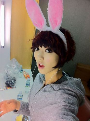 Nine Muses Обои with a bonnet titled фиолетовый