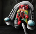 waking up braking out - shadow-the-hedgehog photo
