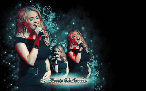 Carrie Underwood wallpaper probably containing a concert titled wallp