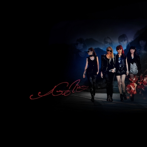 2NE1 AND BIGBANG Wallpaper Possibly Containing A Street Carriageway And Business Suit