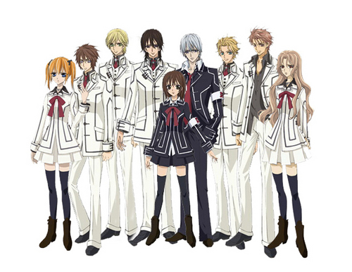 ALL VAMPIRE KNIGHT CHARACTERS