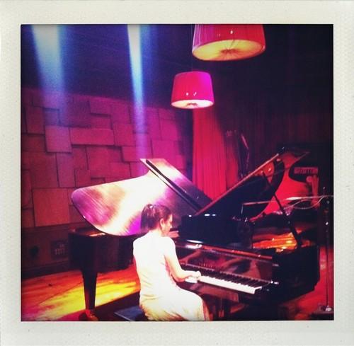 Amy in studio 04-22-2011