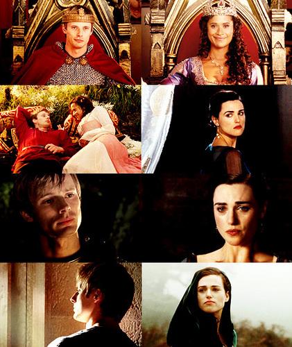 Arthur/Morgana/Gwen